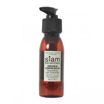 Argan and Lemon Balm hair treatment