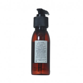 Lavender Body cleansing gel back