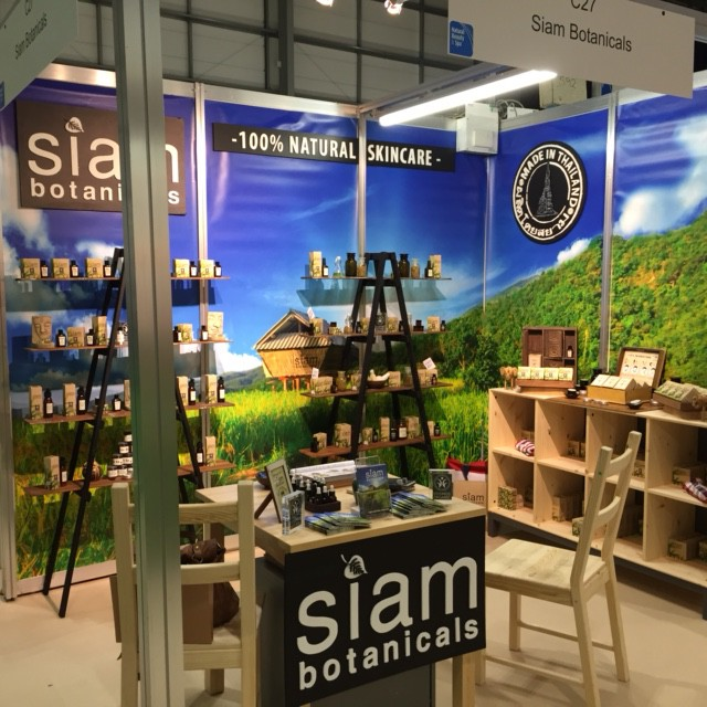 Natural & Organic Products: the Siam Botanicals stand