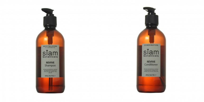 'Revive' shampoo and conditioner with eucalyptus